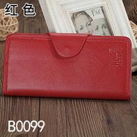 2014 new women's wallet vintage male women's lovers design genuine leather long clutch wallet