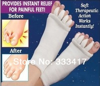 Prevention Toe Valgus Correction Massage Open-toed Toe Socks For Men And Women