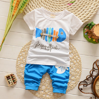 2014 new 2014 new baby clothing set Children  100% cotton boy  new arrival children  twinset sports  female child short-sleeve