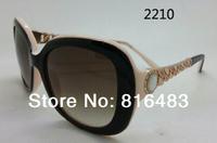 New 2014 fashion designer Brand BV8129 womens sunglasses Luxury eyewear vogue sun glasses Top Best quality 7cols free shipping