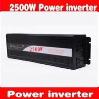 Wholesale 2500W Professional Pure Sine Wave Power Inverter, Solar Inverter Input DC12V output 220V