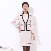 2014 spring professional set work wear suit fashion suit set women's formal female dresses