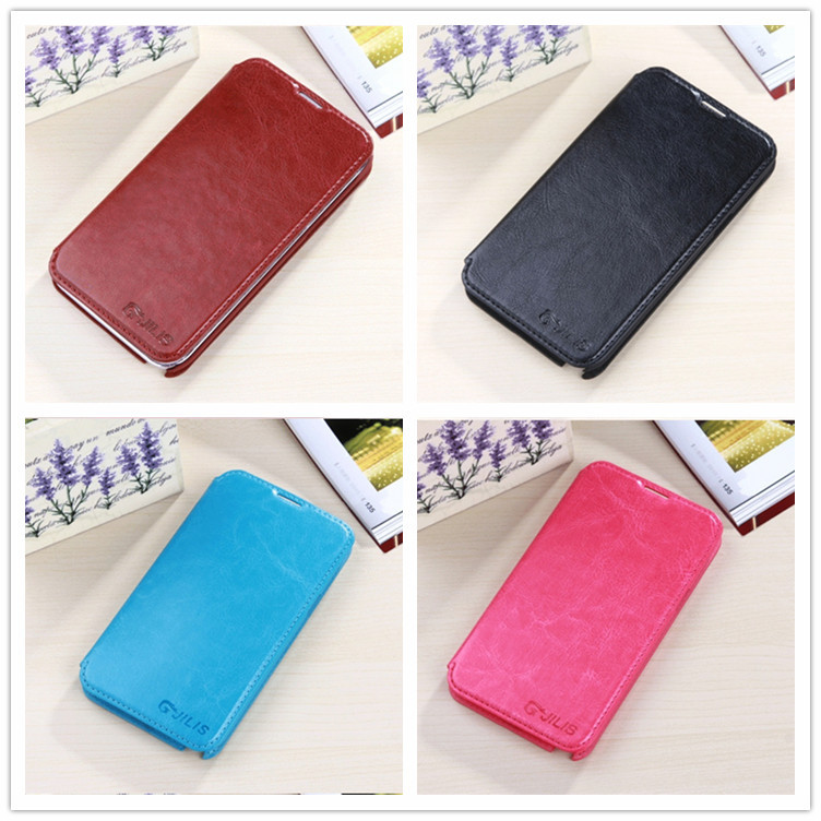 Flip Leather Cases Back Cover Case For Samsung Galaxy Note II 2 Note2 N7100 7100 With Card Holer Stand Case Free shipping(China (Mainland))