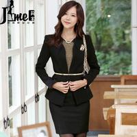 2014 spring formal ol work wear clothing set dresses fashion professional set tooling uniform