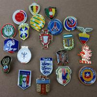 2014 World Cup soccer team logo AC fans souvenir badge brooch pendant free shipping