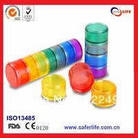 7days pill box medicine box promotional box plastic Premium cute weekly pill box