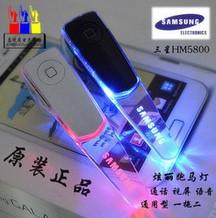 Earphone Samsung HM-5800 stereo music Bluetooth headset phone Universal Dual Standby/wholesale stereo music earphone(China (Mainland))