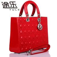 Celebrity Women Lady Girl Leather Quilting Tote Shoulder Bag Party Handbag Purse