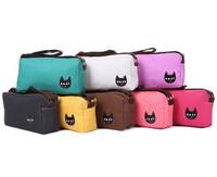 2014 Latest Canvas Women's ladies Small Shoulder bag Polka Dot handbag Purse 6 Colors