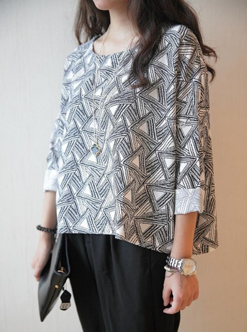 Женская футболка New Brand 2015 Batwing женская футболка new brand 2015 o 8799