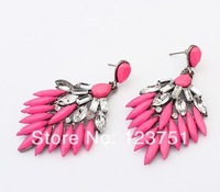 Min order $10(mix order)Free Shipping!Europe and the United States Bohemia Vintage all-match Earrings