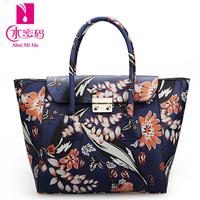 New print pvc bag trend women's handbag 2014 spring and summer ear bags