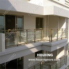 Corrimão de alumínio de vidro / fence designs para varanda(China (Mainland))