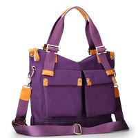 2014 spring and summer female nylon cloth one shoulder cross-body fashion women's handbag bag