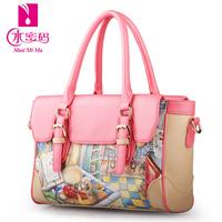 Bags 2014 trend women's handbag messenger bag casual all-match print sweet gentlewomen handbag