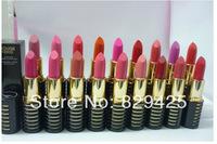 Brand NEW Cosmetics makeup Rouge lipstick LIP STICK 18 colorS (18pcs/lot) Free Shipping!!