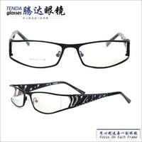 2014 fashion popular full-rim metal wide temple eye glasses frames for men, eyewear optical frame