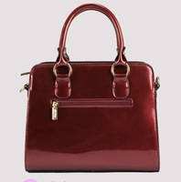 new European and American fashion handbags glossy upscale banquet stereotypes women handbags shoulder portable handbag Messenger