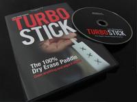 Turbo Stick by R.S (DVD + Gimmick) - Close up magic trick, card magic,erase board magic