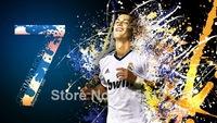 "003 Cristiano Ronaldo - Real Madrid Super Star Soccer Player  24""x14"" Poster"