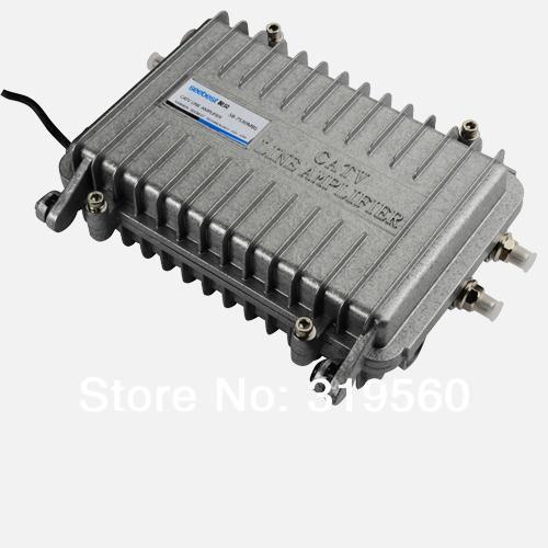 Bi-directional trunk amplifier Seebest Cable TV Signal Amplifier Splitter Booster CATV trunk Amplifier 2 Output 30DB SB-7530MBS(China (Mainland))
