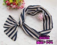 1013 Korean velvet bow hair wide bandwidth of rabbit ears hair bands vivi love dot ribbon hair accessories head