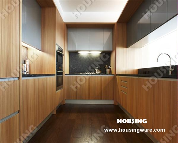 Online kopen wholesale keuken fineer uit china keuken fineer groothandel - Moderne keukenkast ...