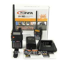 NEW UHF/VHF 400-470MHz & 136-174MHz FM VOX TONFA UV-985 CB Radio Walkie