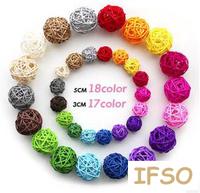 Free shipping DHL Multicolour sepak takraw handmade sepak takraw ball string light wedding supplies decoration 3cm