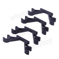2 pair 2-Axis Frame Landing Skid Mount FPV Gimbal Suspender Mounting Hook 10mm