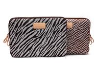"Pop fashion zebra stripes design10' 11' 12' 13.3' 14' 15.6""  Laptop computer Case Cover Sleeve canvas  pouch Bag  For HP macbook"