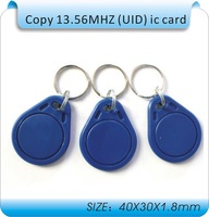 50pcs UID Changeable Card for 1K  support libnfc Cracker RFID 13.56MHz ISO14443A Block 0 sector writable / IC Copy Clone