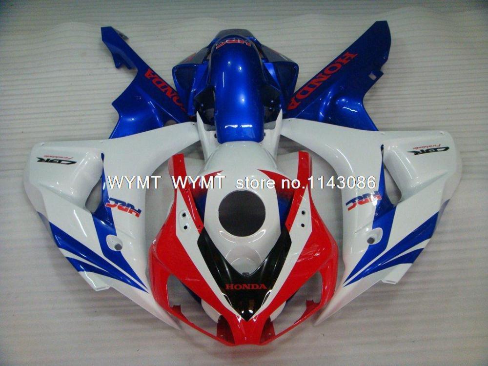 for Honda Cbr1000rr 06 Fairing Kits White Red Blue for Honda Cbr1000rr 06 Injection Abs Fairing 06 07 details(China (Mainland))