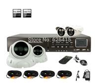 New Hot CCTV 4CH DVR Security System FUll 960H 1080p HDMI Port  Realtime Recording 1200TVL  Outdoor IR CCTV Cameras CCTV KITS