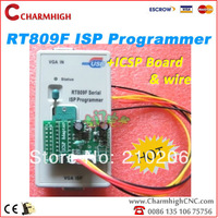 VGA LCD ISP programmer RT809F Serial ISP Programmer with ICSP + 1 adapter PC Repair 24-25-93 serise IC RTD2120, discount!