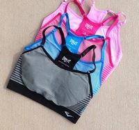 Free shipping Everlast sports vest women's yoga bra belt pad underwear short design  wholesales