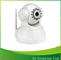 2014 Ebay Top Sale Pan/tilt Indoor two ways audio wifi ip camera watch Dog camera Home surveillance wireless cameras