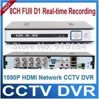 8CH full D1 H.264 video CCTV dvr recorder,PTZ control ,VGA,,digital video recorder ,Mobile Phone/ network remote Monitoring