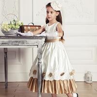girl dress formal  wedding dress princess one-piece dress 2014 children's clothing