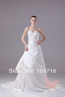 Weddingdress verawang2013 brief tube top expansion bottom long trailing the bride wedding dress