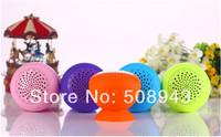 Mushroom Mini Wireless Bluetooth Speaker Hands Free loud speakers Waterproof Sucker for Samsung, phone,Free shipping 1pcs