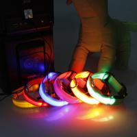 Charge type led screen luminous pet dog collar dog collar charge chaplains pet dog supplies