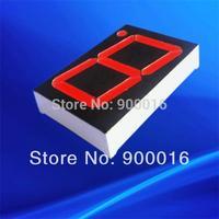 1.8 inch super red single digit 7 segment led digital display outdoor