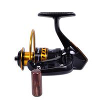Free shipping, HL6000 10+1 bearing roll spinning wheel fishing reel