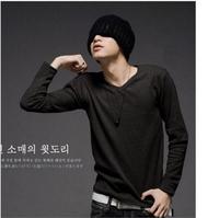 819 super deal free shipping men t shirts ,Summer New Fashion men T Shirt O-Neck full-Sleeve Cotton T-Shirts 10
