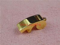 50 pcs Metal Gift Keychain Referee Coach Whistle Keyring Beer Bottle Opener Custom Logo gold kirsite opener Children's whistle