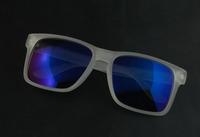 Classic basic holbrook sunglasses sand blue mercury reflective lens