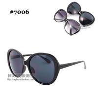 Star style big box women's sunglasses fashion sunglasses anti-uv glasses all-match