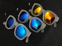 Excellent quality fashion multicolour mercury glasses sand white picture frame