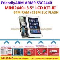 FriendlyARM Development Board ARM Kit -III MINI2440 + 3.5 inch LCD + GPIO + Camera + WIFI+ TTL-RS232 + USB -RS232 , S3C2440 ARM9